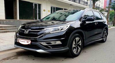 [BÁN GẤP] Honda CRV 2.4L đời cuối 2017 - màu đen [xetot360.com]